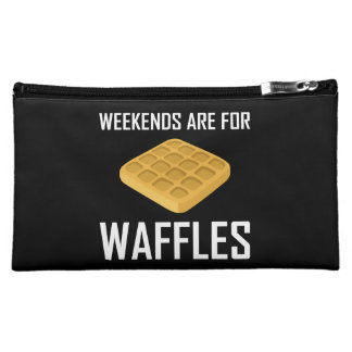 Weekends Are For Waffles Cosmetic Bag