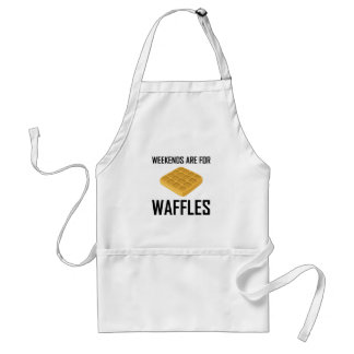 Weekends Are For Waffles Standard Apron