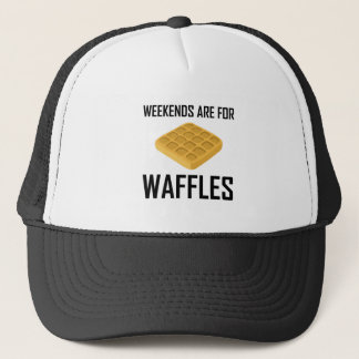 Weekends Are For Waffles Trucker Hat