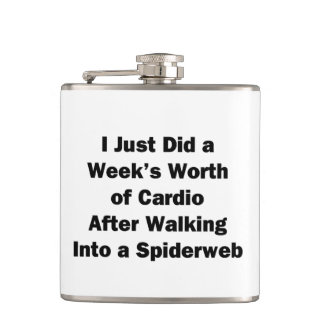 Week's Worth of Cardio Hip Flask