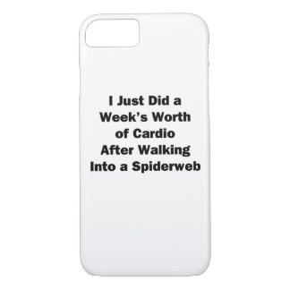Week's Worth of Cardio iPhone 8/7 Case