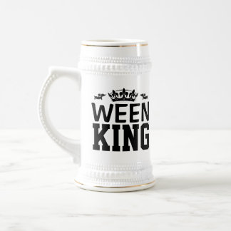 Ween King Dachshund Dad Stein Mug Father's Day