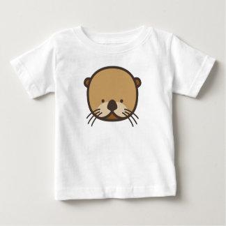 WeeOnez Otter Baby Fine Jersey T-Shirt