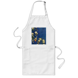 Weeping Cherry and Bullfinch Long Apron
