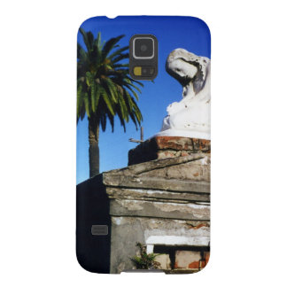 Weeping child / Angel- New Orleans Cemetery Case For Galaxy S5