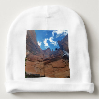 Weeping Rock   Zion National Park Baby Beanie
