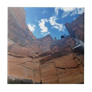 Weeping Rock   Zion National Park Ceramic Tile
