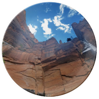 Weeping Rock   Zion National Park Porcelain Plate