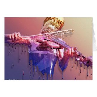 Weeping Violin Card