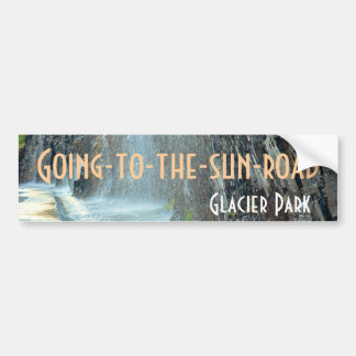 Weeping Wall, Going-to-the-sun-road Bumper Sticker