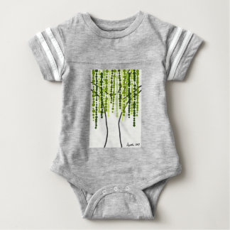 weeping willow baby bodysuit