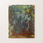 Weeping Willow: Giverny - Claude Monet Jigsaw Puzzle