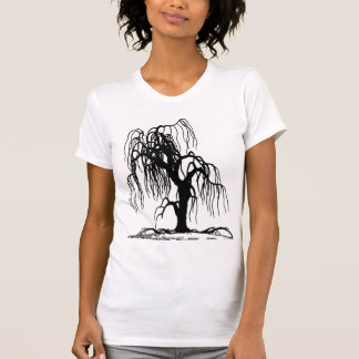 WEEPING WILLOW TREE T SHIRT