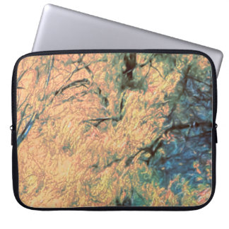 Weeping Willows In Fall Computer Sleeve
