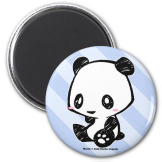 Weetle Panda 2 Inch Round Magnet