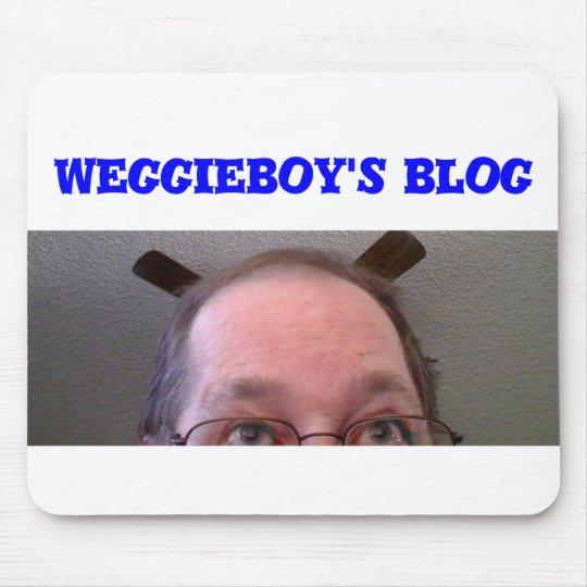 weggieboy's blog mouse pad