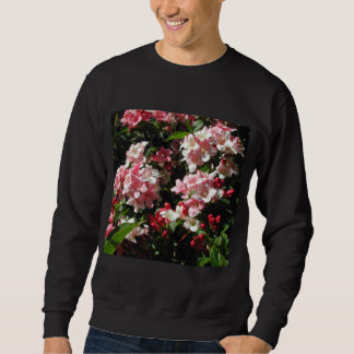 Weigela. Pretty Pink Flowers. Sweatshirt