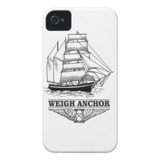 weigh anchor and go iPhone 4 case