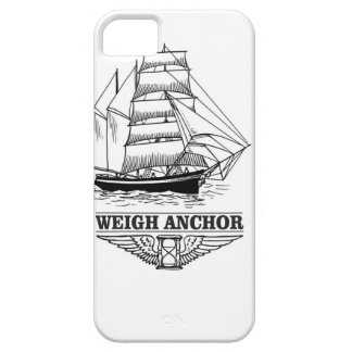 weigh anchor and go iPhone 5 case