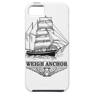 weigh anchor and go iPhone 5 cover
