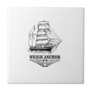 weigh anchor and go tile