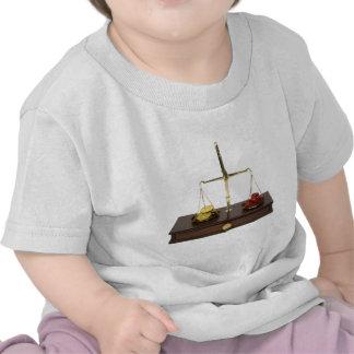 WeighingLoveMoney090309 Tee Shirts