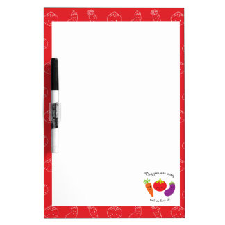 Weight & Health Conscious Dry Erase Whiteboard