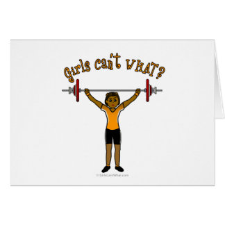Weight Lifter (Dark) Card