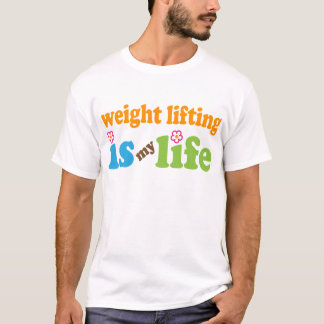 Weight Lifter Gift Girls T-Shirt