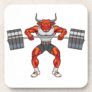weight lifting bull 2 coaster