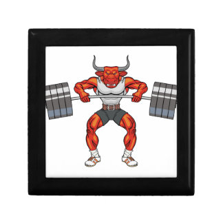 weight lifting bull 2 gift box