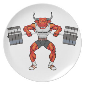 weight lifting bull 2 plate