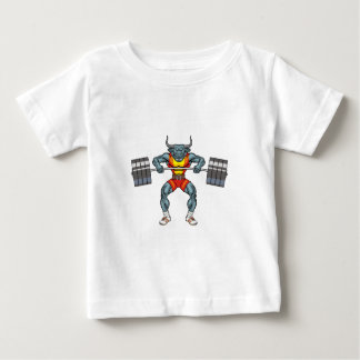 weight lifting bull 3 baby T-Shirt