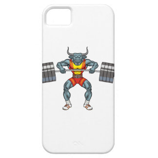 weight lifting bull 3 case for the iPhone 5