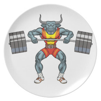 weight lifting bull 3 plate