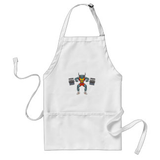 weight lifting bull 3 standard apron