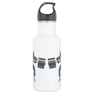weight lifting bull 532 ml water bottle