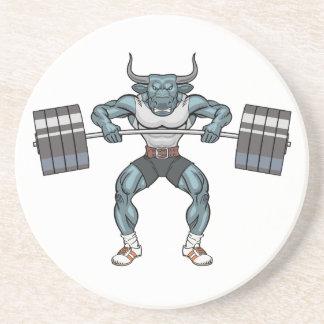 weight lifting bull coaster