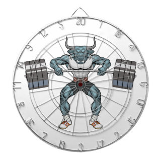 weight lifting bull dartboard