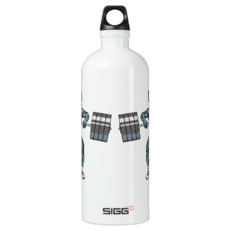 weight lifting bull water bottle