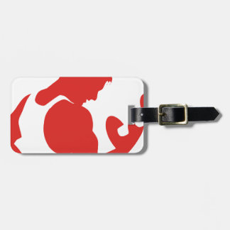 Weight Lifting Luggage Tag
