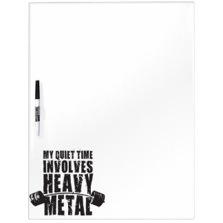 """""""Weight lifting"""" Motivation - Heavy Metal Dry Erase Board"""