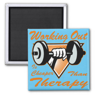 Weight Lifting Working Out Cheaper Than Therapy  2 Magnet