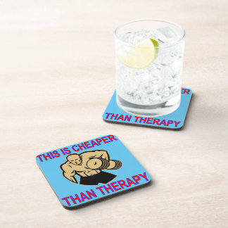 Weight Lifting Working Out Cheaper Than Therapy Coaster