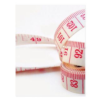 Weight Loss Measuring Tape Postcard