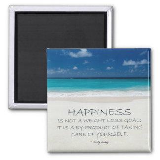 Weight Loss Motivational Magnet: Beach 16 Magnet