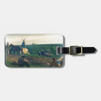 Weight of time luggage tag