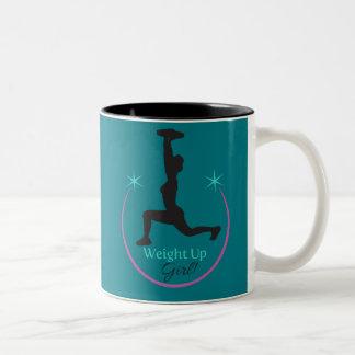 Weight Up Girl! mug