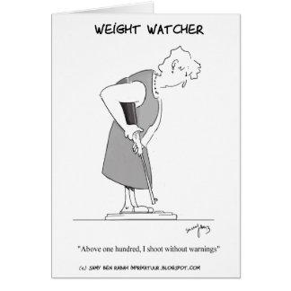 Weight Watcher Card
