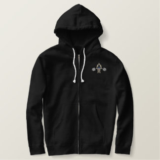 Weightlifter Embroidered Hoodie